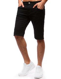 038ceced586643 Spodenki męskie jeansowe czarne (sx0664) - sklep online Dstreet.pl